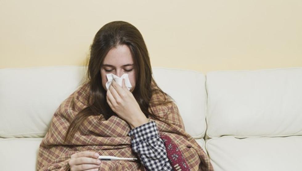 gripe fuerte